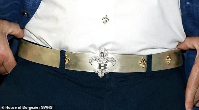 Chiếc thắt lưng đắt nhất thế giới có giá 1,8 tỷ đồng - 2