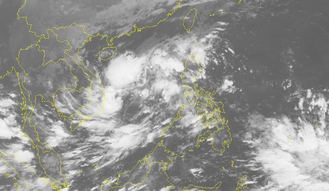 Xuất hiện một vùng áp thấp trên Biển Đông - 1