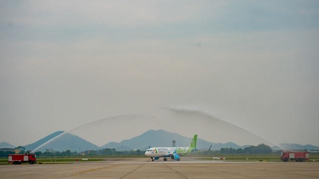 """Bamboo Airways đón máy bay Airbus A320neo đầu tiên trong chiếc áo """"Fly Green"""" ấn tượng - 2"""