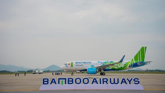 """Bamboo Airways đón máy bay Airbus A320neo đầu tiên trong chiếc áo """"Fly Green"""" ấn tượng - 3"""