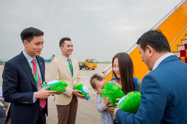 """Bamboo Airways đón máy bay Airbus A320neo đầu tiên trong chiếc áo """"Fly Green"""" ấn tượng - 6"""