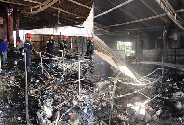 Hỏa hoạn thiêu rụi cửa hàng tạp hóa lúc giữa trưa - 1