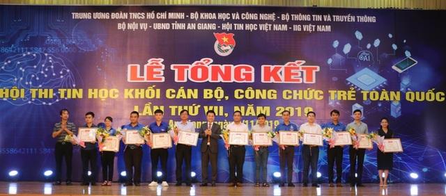 Hội thi Tin học khối cán bộ, công chức trẻ: Kiên Giang giành giải Nhất toàn đoàn - 1