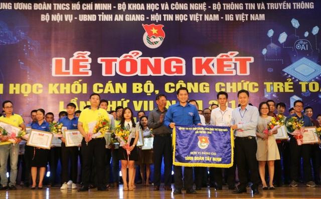 Hội thi Tin học khối cán bộ, công chức trẻ: Kiên Giang giành giải Nhất toàn đoàn - 3