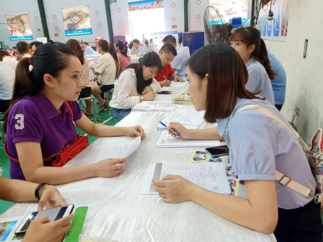 Phiên GDVL Đông Anh (Hà Nội): 37 DN tuyển gần 1.700 vị trí việc làm trong nước - 1