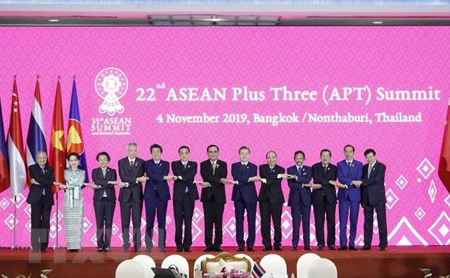 Thủ tướng Nguyễn Xuân Phúc dự Hội nghị Cấp cao ASEAN +3 lần thứ 22 - 1