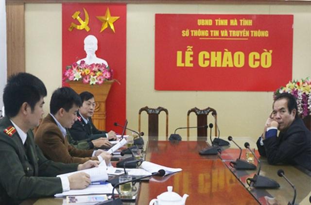 Xử lý người đàn ông lập báo điện tử lậu ở Hà Tĩnh - 2