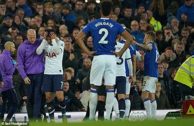 Son Heung Min bật khóc sau khi làm gãy cổ chân cầu thủ Everton - 5