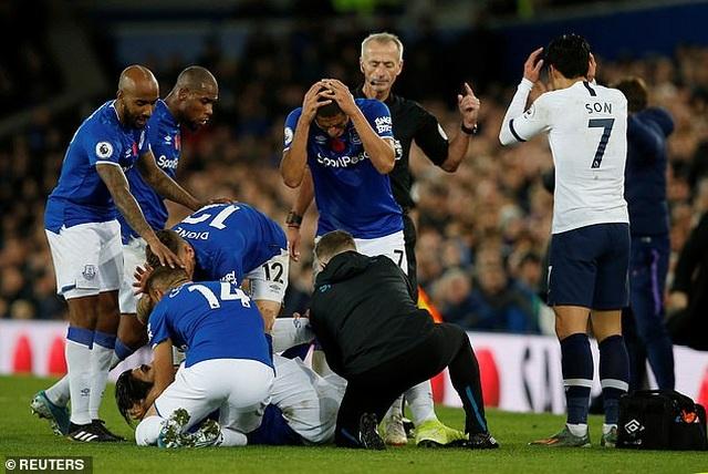 Son Heung Min bật khóc sau khi làm gãy cổ chân cầu thủ Everton - 7