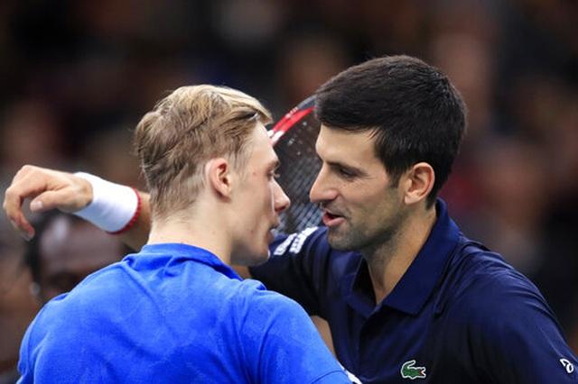 Novak Djokovic lần thứ năm vô địch Paris Masters - 2