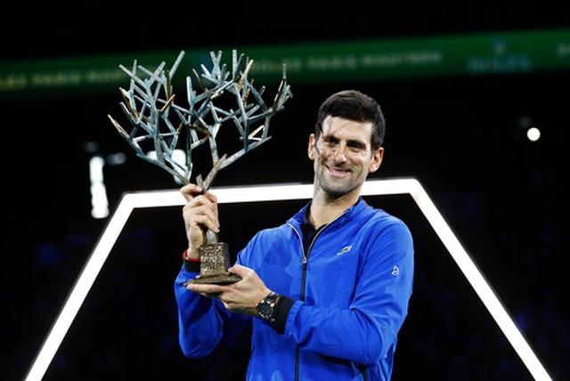 Novak Djokovic lần thứ năm vô địch Paris Masters - 1