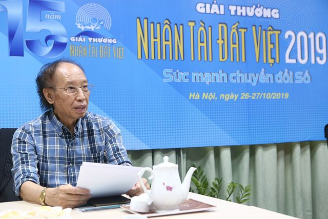 14h30 hôm nay công bố sản phẩm vào chung khảo lĩnh vực CNTT Giải thưởng Nhân tài Đất Việt 2019 - 2