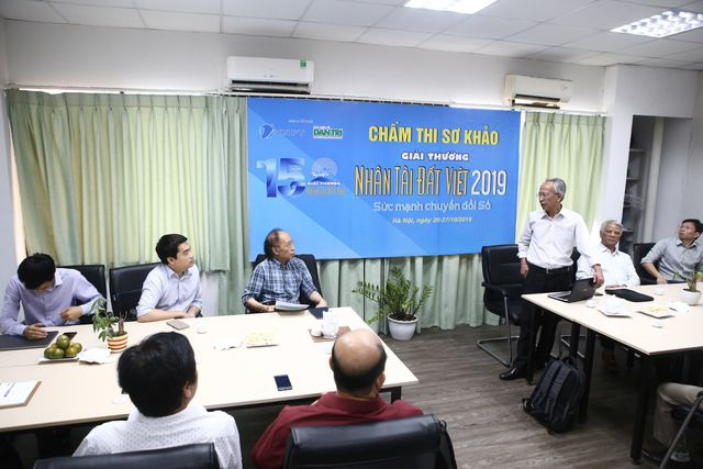 14h30 hôm nay công bố sản phẩm vào chung khảo lĩnh vực CNTT Giải thưởng Nhân tài Đất Việt 2019 - 1