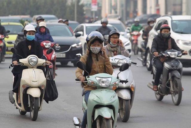 Bụi do khí thải phương tiện giao thông gây ra các bệnh như hút thuốc lá - 2