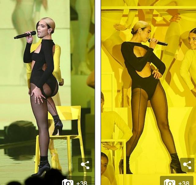 Dua Lipa mặc sốc dự lễ trao giải MTV Châu Âu - 2