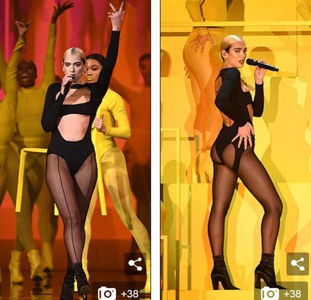 Dua Lipa mặc sốc dự lễ trao giải MTV Châu Âu - 3