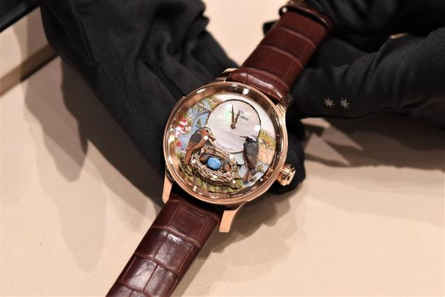 Jaquet Droz ra mắt đồng hồ Vịnh Hạ Long độc bản tại workshop nghệ thuật tiểu họa - 4