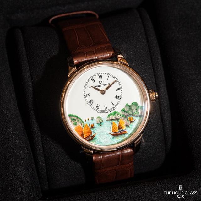 Jaquet Droz ra mắt đồng hồ Vịnh Hạ Long độc bản tại workshop nghệ thuật tiểu họa - 5