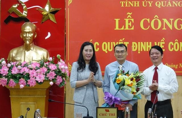 Tỉnh ủy Quảng Ngãi bổ nhiệm một số chức vụ chủ chốt - 1