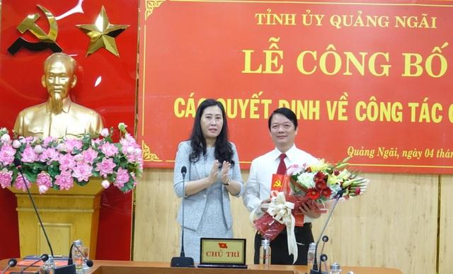 Tỉnh ủy Quảng Ngãi bổ nhiệm một số chức vụ chủ chốt - 2