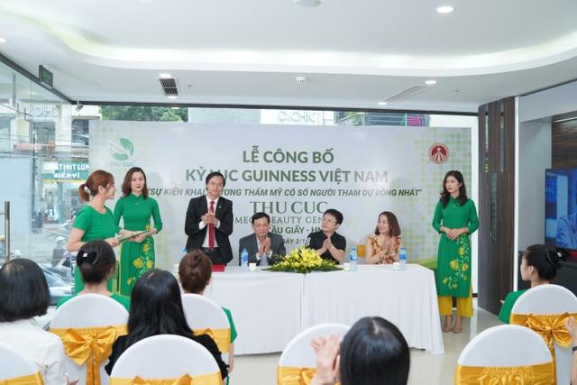 Hệ thống Thẩm mỹ Thu Cúc xác lập kỷ lục Guinness tại Việt Nam - 2