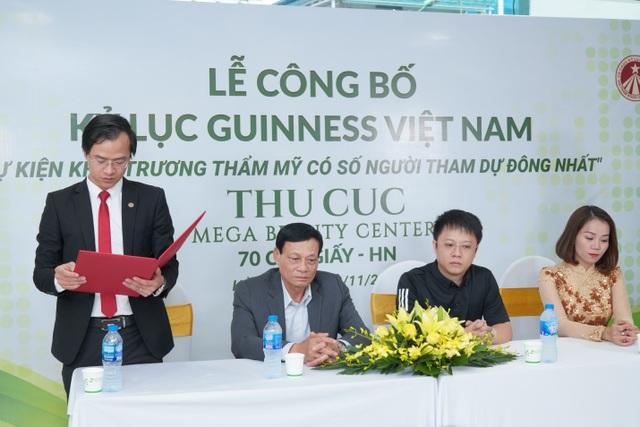Hệ thống Thẩm mỹ Thu Cúc xác lập kỷ lục Guinness tại Việt Nam - 3
