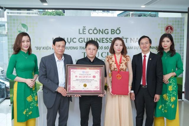 Hệ thống Thẩm mỹ Thu Cúc xác lập kỷ lục Guinness tại Việt Nam - 4