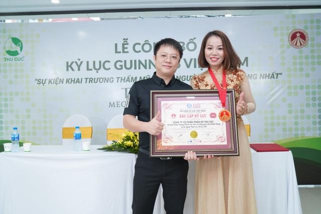 Hệ thống Thẩm mỹ Thu Cúc xác lập kỷ lục Guinness tại Việt Nam - 5