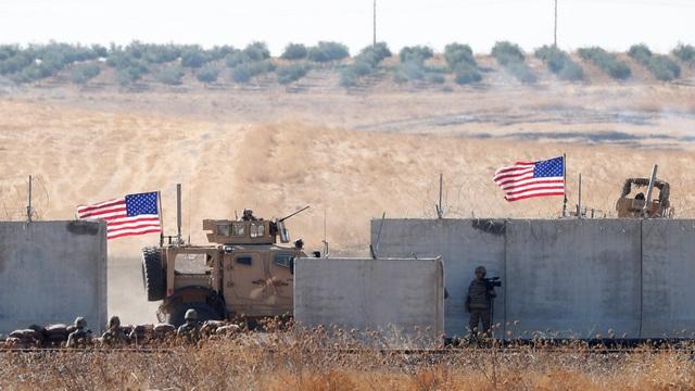 Binh sĩ Mỹ bị trúng hỏa lực ở Syria - 1