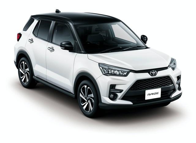 Toyota Raize chính thức gia nhập phân khúc SUV cỡ nhỏ - 24