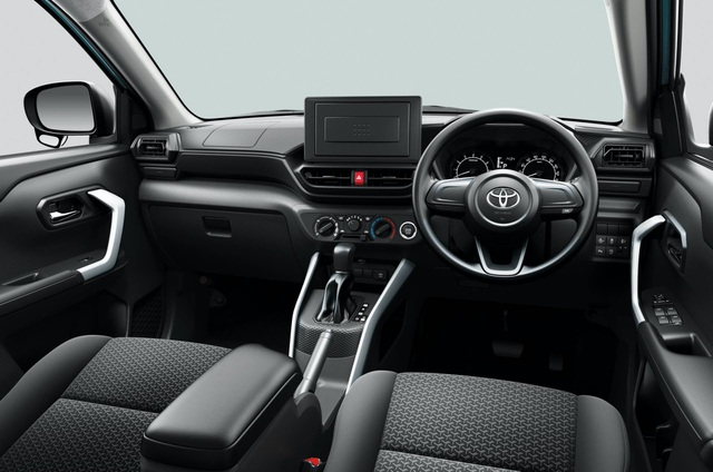 Toyota Raize chính thức gia nhập phân khúc SUV cỡ nhỏ - 3