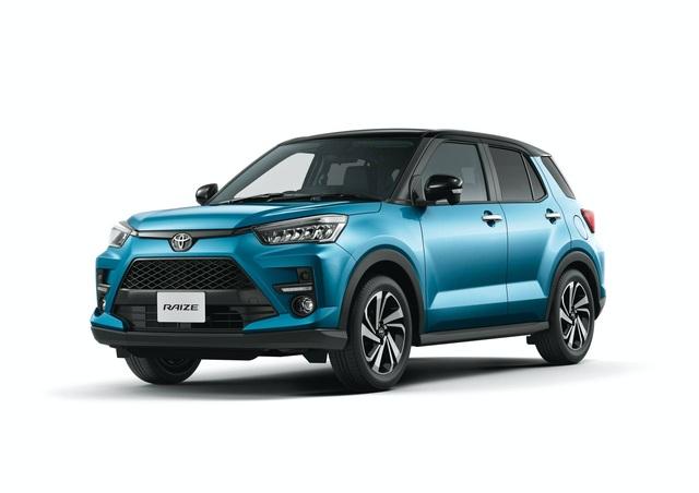 Toyota Raize chính thức gia nhập phân khúc SUV cỡ nhỏ - 5