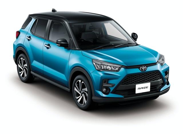 Toyota Raize chính thức gia nhập phân khúc SUV cỡ nhỏ - 18