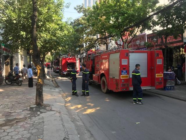 Cháy chung cư mini 8 tầng ở Hà Nội - 5