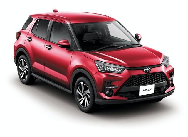Toyota Raize chính thức gia nhập phân khúc SUV cỡ nhỏ - 20