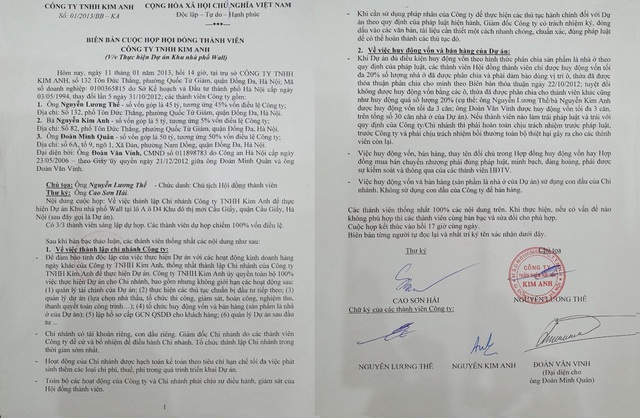 Phó Thủ tướng một lần nữa kết luận vụ tranh chấp tại Công ty TNHH Kim Anh - 3