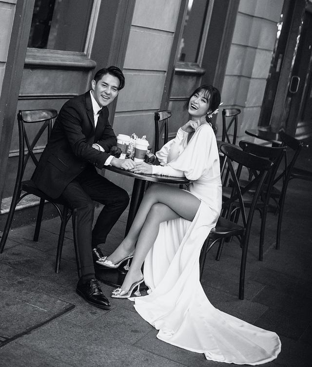 Đông Nhi - Ông Cao Thắng tung ảnh cưới ngọt ngào  - 4