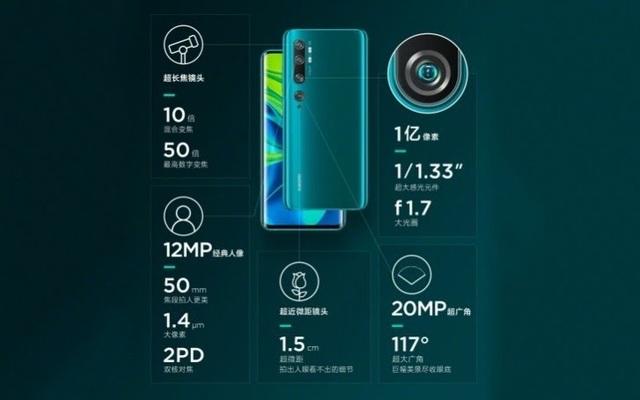 Xiaomi Mi CC9 Pro chính thức ra mắt, camera khủng 108MP - 3