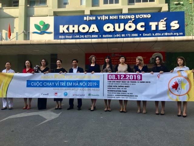 Đại sứ Canada kêu gọi chạy vì bệnh nhi mắc bệnh hiểm nghèo Việt Nam - 1
