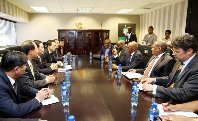 Việt Nam muốn mở chi nhánh ngân hàng thương mại tại Nam Phi - 2