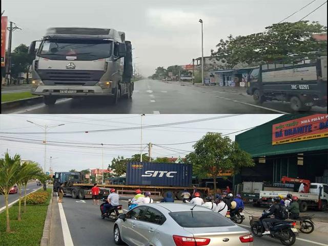 Hàng loạt hung thần xa lộ vô tư vi phạm giao thông - 1