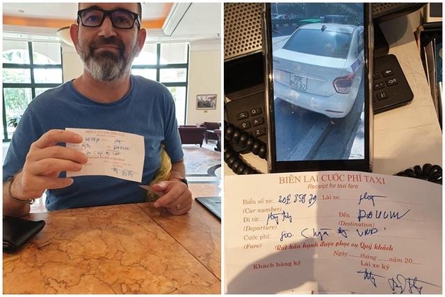 """Cộng đồng bức xúc truy lùng tài xế taxi """"chặt chém"""" khách Tây 1 triệu đồng cho 4 km - 1"""