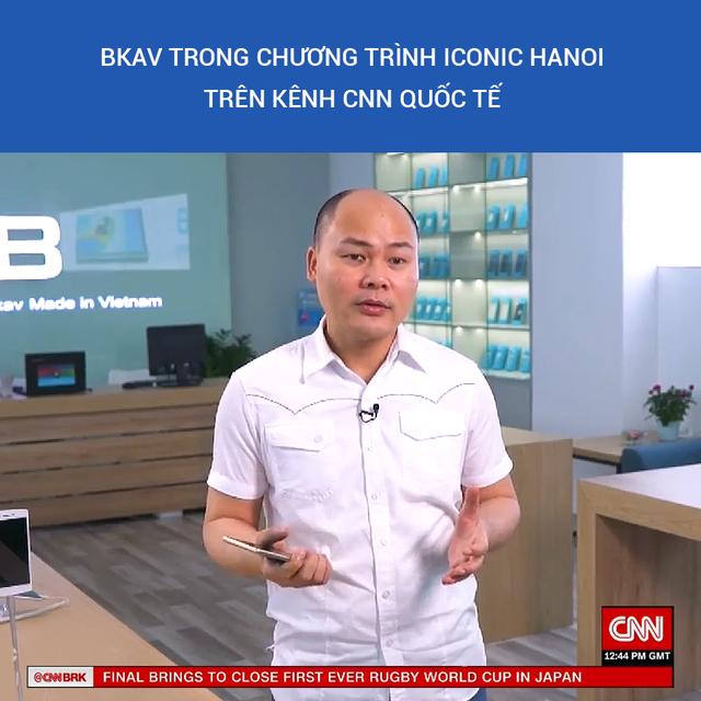 """CEO Bkav trải lòng về tên """"Quảng nổ"""" và khát vọng smartphone Việt trên kênh CNN - 2"""