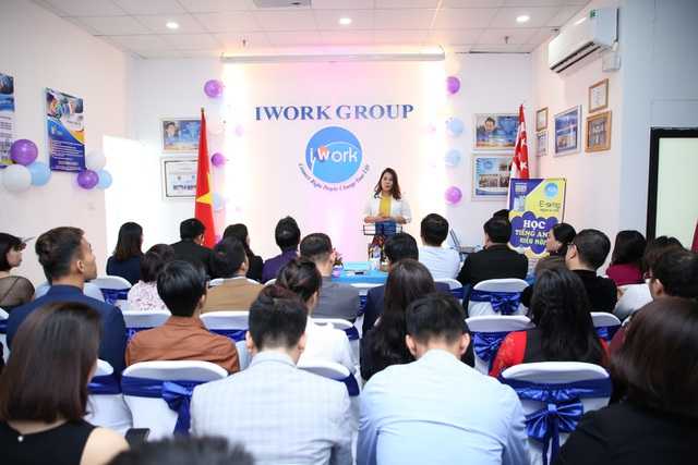"""iWork Group ra mắt sản phẩm sinh trắc vân tay 4.0 – """"Đánh thức tài năng, định hướng tương lai – Kiến tạo cuộc đời ngoại hạng"""" - 2"""