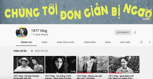 Chỉ bằng 4 clip, nhóm 1977 Vlog đã đạt Nút Vàng Youtube  - 1