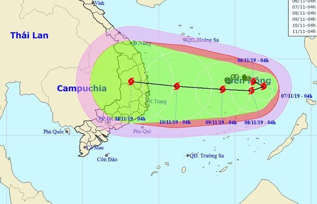 Hình thành bão số 6 trên Biển Đông - 1