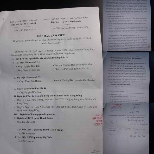 Người dân Hạ Đình yêu cầu Rạng Đông đền bù 1 tỷ đồng/1 lít máu nhiễm thuỷ ngân - 2