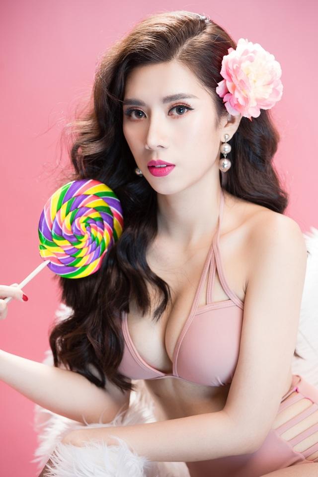 Hoa hậu Du lịch Quốc tế 2019 diện bikini khoe dáng   - 13