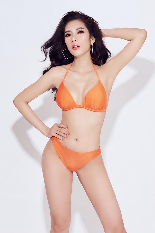 Hoa hậu Du lịch Quốc tế 2019 diện bikini khoe dáng   - 15