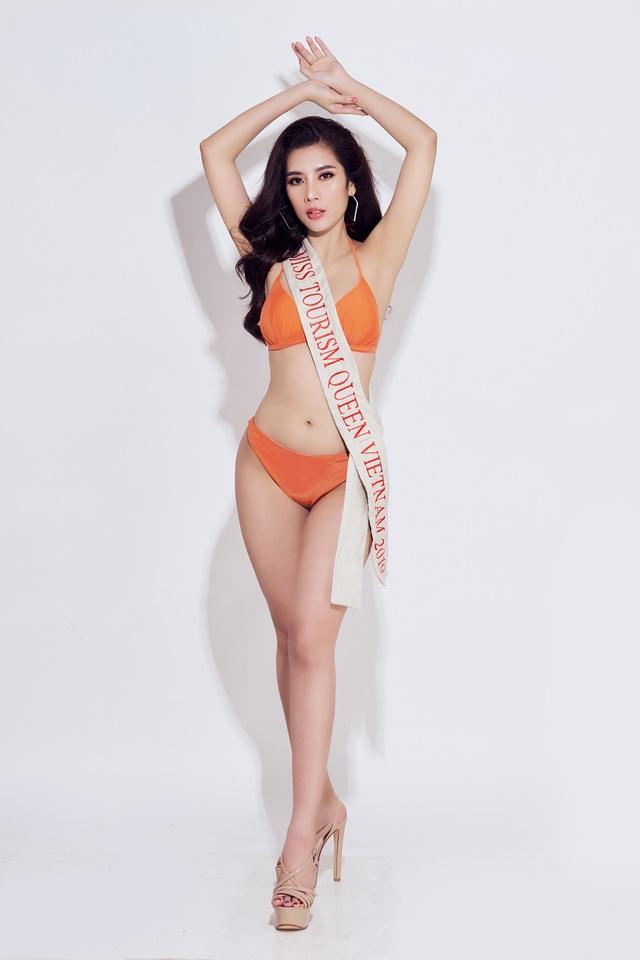 Hoa hậu Du lịch Quốc tế 2019 diện bikini khoe dáng   - 16